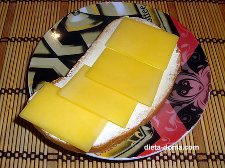 пол кусочка хлеба с маслом можно на диете