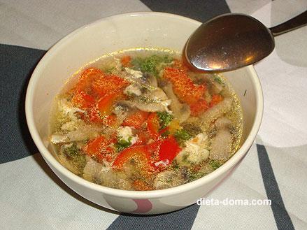 как приготовить диетические супы